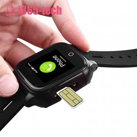 Ceas Smartwatch Pentru Copii i365-Tech FA28 cu Functie Telefon, Apel video, Localizare GPS, Camera, Pedometru, SOS, IP54, 4G, Negru [4]
