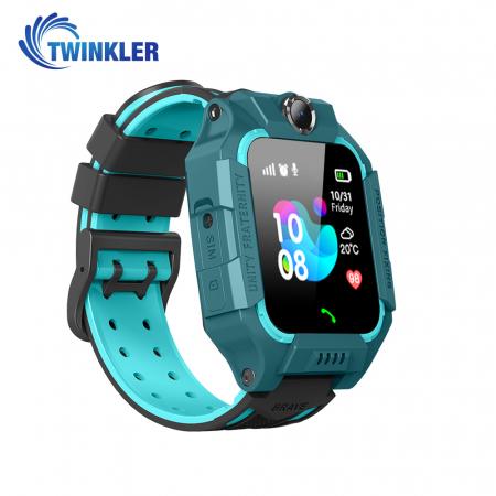Ceas Smartwatch Pentru Copii Twinkler TKY-GK01 cu Functie Telefon, Localizare GPS, Camera, Lanterna, Joc Matematic, Apel de monitorizare, Albastru [1]