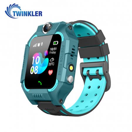 Ceas Smartwatch Pentru Copii Twinkler TKY-GK01 cu Functie Telefon, Localizare GPS, Camera, Lanterna, Joc Matematic, Apel de monitorizare, Albastru [0]