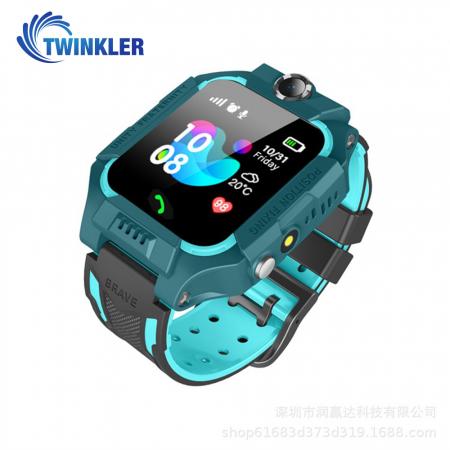 Ceas Smartwatch Pentru Copii Twinkler TKY-GK01 cu Functie Telefon, Localizare GPS, Camera, Lanterna, Joc Matematic, Apel de monitorizare, Albastru [2]