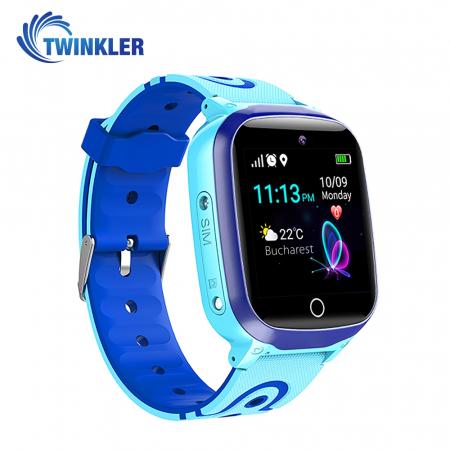 Ceas Smartwatch Pentru Copii Twinkler TKY-Q15 cu Functie Telefon, Localizare GPS, Istoric traseu, Apel de Monitorizare, Camera, SOS, Joc Matematic, Albastru, Cartela SIM Cadou [1]