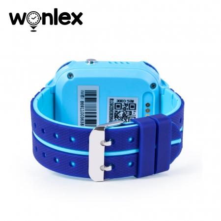 Ceas Smartwatch Pentru Copii Wonlex GW600S cu Functie Telefon, Localizare GPS, Monitorizare somn, Camera, Pedometru, SOS, IP54 ; Albastru, Cartela SIM Cadou [4]