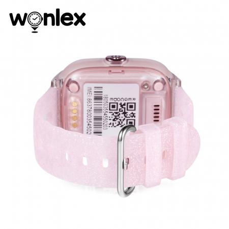 Ceas Smartwatch Pentru Copii Wonlex KT01 cu Functie Telefon, Localizare GPS, Camera, Pedometru, SOS, IP54 ; Roz Pal, Cartela SIM Cadou [3]