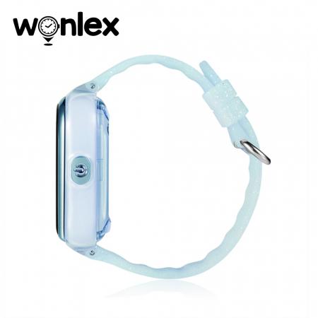 Ceas Smartwatch Pentru Copii Wonlex KT01 cu Functie Telefon, Localizare GPS, Camera, Pedometru, SOS, IP54 ; Turcoaz, Cartela SIM Cadou [2]