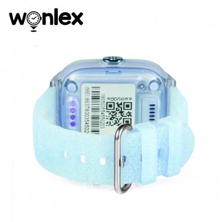 Ceas Smartwatch Pentru Copii Wonlex KT01 cu Functie Telefon, Localizare GPS, Camera, Pedometru, SOS, IP54 ; Turcoaz, Cartela SIM Cadou [3]