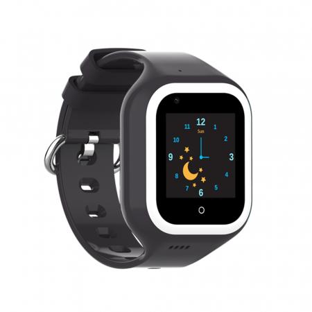 Ceas Smartwatch Pentru Copii, Wonlex KT21, Negru, SIM card, 4G, Rezistent la apa IP54, Apel video [0]