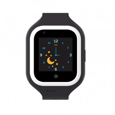 Ceas Smartwatch Pentru Copii, Wonlex KT21, Negru, SIM card, 4G, Rezistent la apa IP54, Apel video [1]