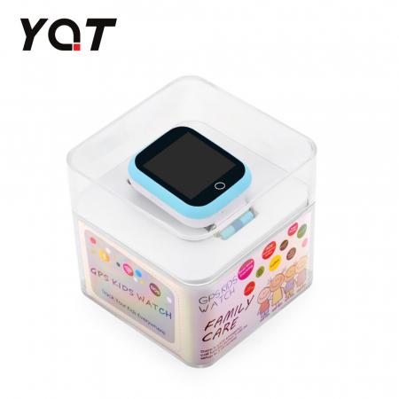 Ceas Smartwatch Pentru Copii YQT Q750 cu Functie Telefon, Localizare GPS, Apel de Monitorizare, Pedometru, SOS, Albastru [3]