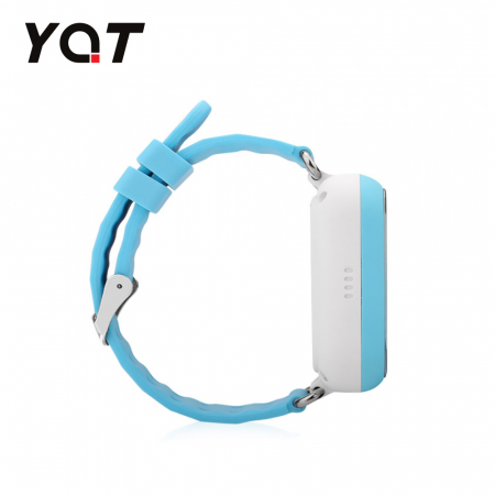 Ceas Smartwatch Pentru Copii YQT Q750 cu Functie Telefon, Localizare GPS, Apel de Monitorizare, Pedometru, SOS, Albastru [1]