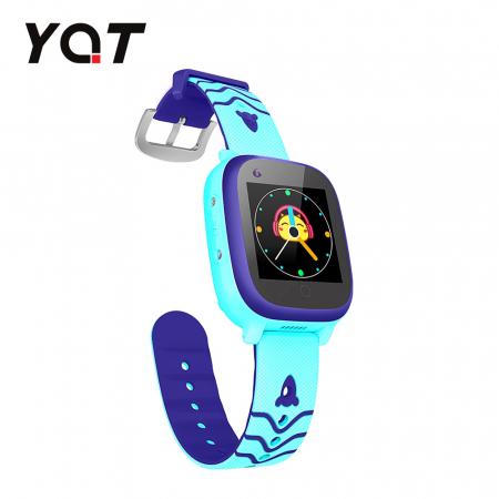 Ceas Smartwatch Pentru Copii YQT T5 cu Functie Telefon, Apel video, Localizare GPS, Istoric traseu, Apel de Monitorizare, Camera, Lanterna, Android, 4G, Albastru, Cartela SIM Cadou [2]