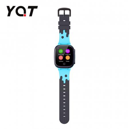Ceas Smartwatch Pentru Copii YQT T8 cu Functie Telefon, Apel video, Localizare GPS, Istoric traseu, Pedometru, Apel de Monitorizare, Camera, Android, 4G, Albastru, Cartela SIM Cadou [4]