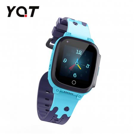 Ceas Smartwatch Pentru Copii YQT T8 cu Functie Telefon, Apel video, Localizare GPS, Istoric traseu, Pedometru, Apel de Monitorizare, Camera, Android, 4G, Albastru, Cartela SIM Cadou [3]