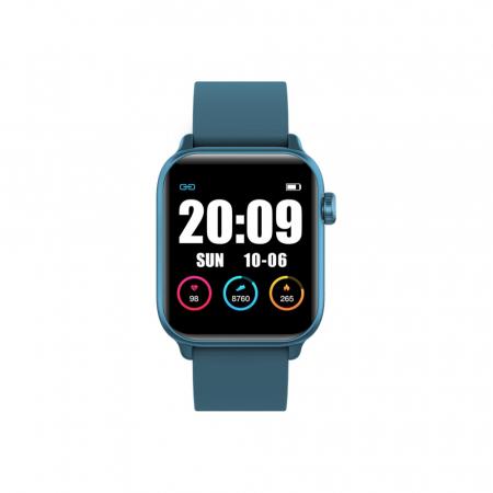 Ceas Smartwatch Twinkler TKY H30 KW37, Verde inchis, Memento sedentar, Termometru, Monitorizarea somnului [1]