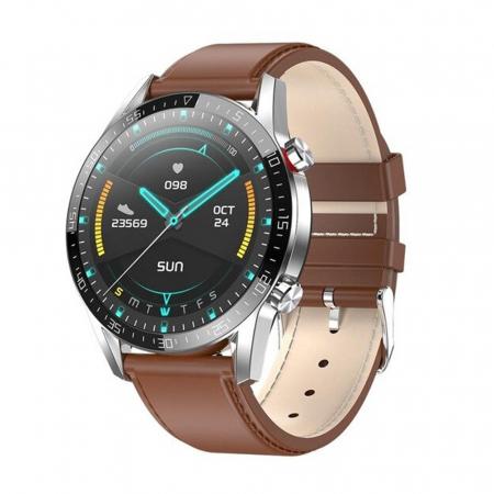 Ceas smartwatch, Twinkler TKY-SW03, Maro, Functie masurarea ritmului cardiac, Rezistenta IP54, Bluetooth [0]