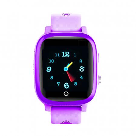 Ceas smartwatch YQT T5S, 4G, Mov, Masurarea temperaturii, Pedometru, Verificare istoric, Alarma, Lanterna [1]
