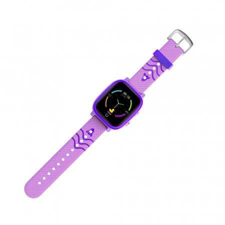 Ceas smartwatch YQT T5S, 4G, Mov, Masurarea temperaturii, Pedometru, Verificare istoric, Alarma, Lanterna [4]