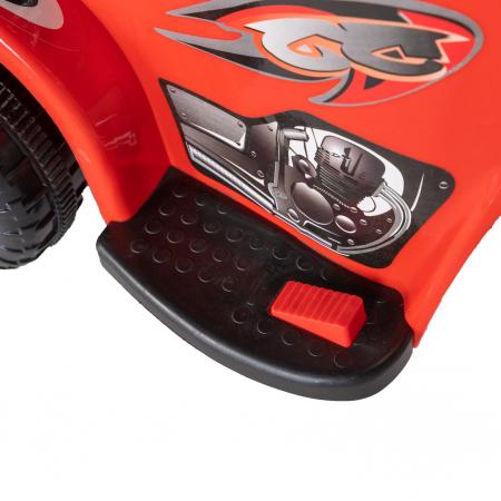 Motocicleta electrica copii Rich Baby cu acumulator, muzica si lumini, culoare rosu [9]