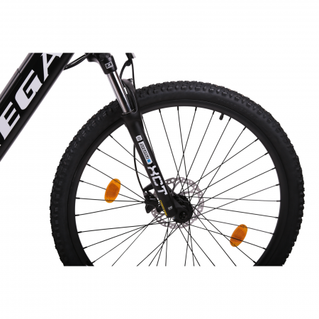 "Bicicleta electrica Omega Kerwin 29"" negru/portocaliu/alb [3]"