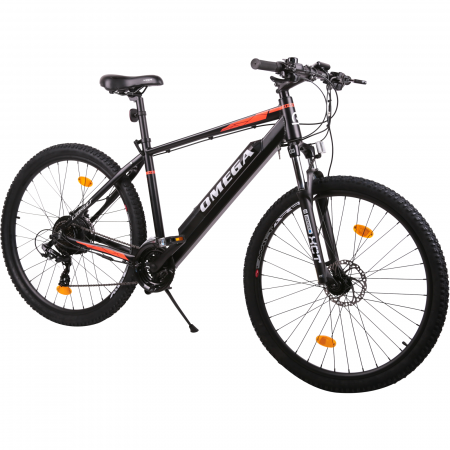"Bicicleta electrica Omega Liohult 29"" negru/portocaliu/ alb [1]"