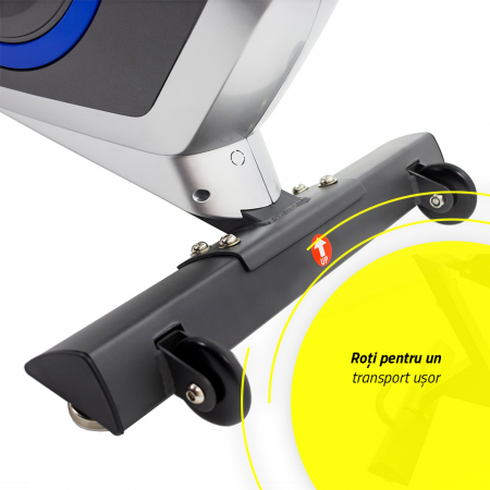 Bicicleta fitness orizontala cu spatar Techfit R410 [4]