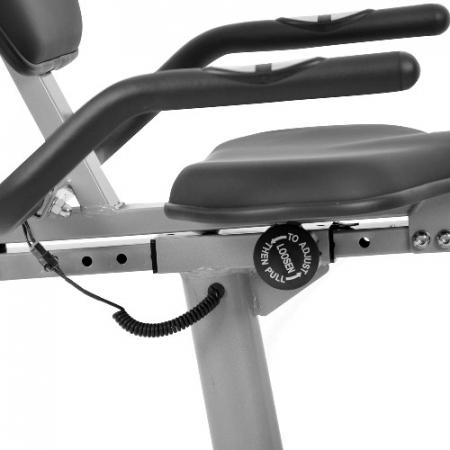 Bicicleta fitness magnetica recumbent inSPORTline Rapid [3]