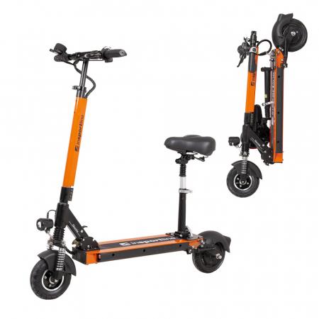 Trotineta electrica inSPORTline Skootie Pro 8'' portocalie [0]