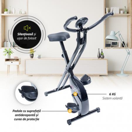 Bicicleta magnetica fitness verticala Techfit XBIKE [3]