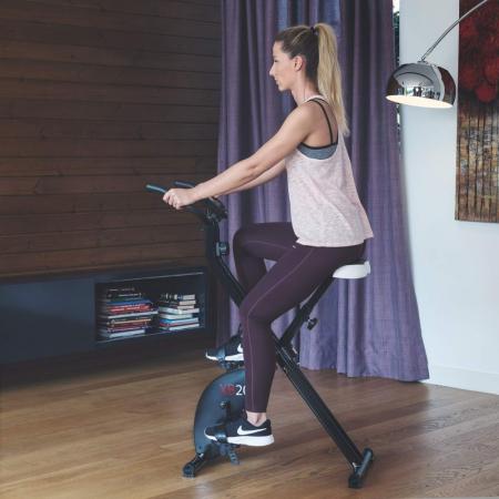 Bicicleta magnetica fitness verticala Techfit XBIKE [5]