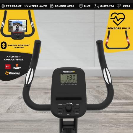 Bicicleta magnetica fitness pliabila Progressive XF100 [5]