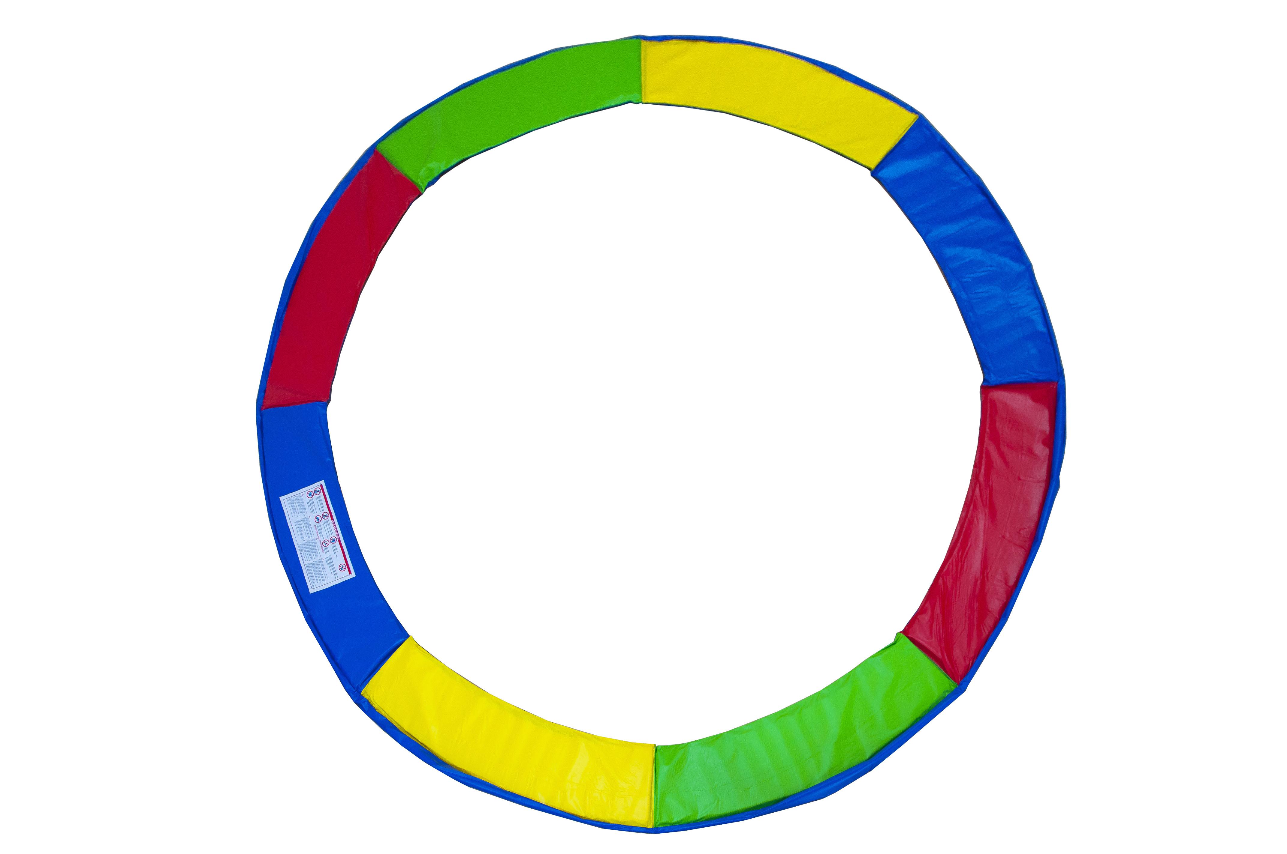 Protectie Arcuri pentru Trambulina Multicolor 244 cm L641 0