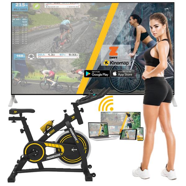 Bicicleta indoor cycling SX2000 Progressive 1