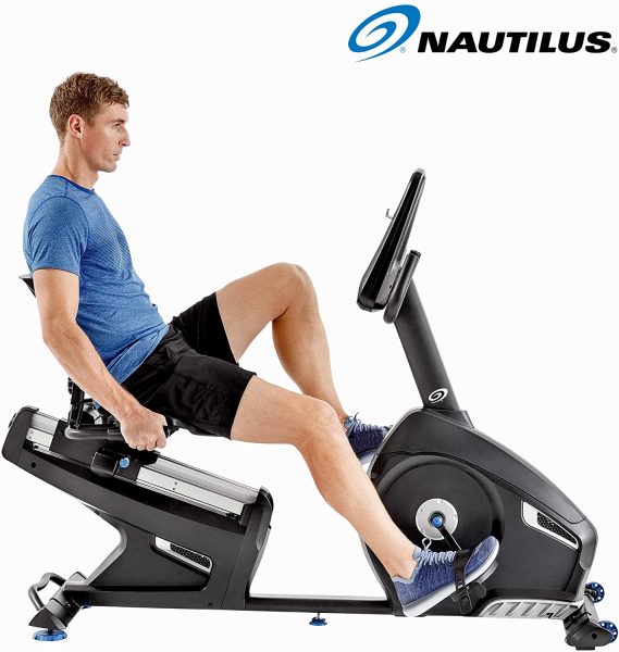 Bicicleta fitness orizontala  R626 Nautilus 4