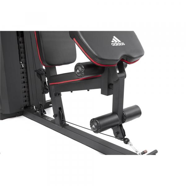 Aparat Multifunctional Adidas, bloc greutati 100 kg, 4 posturi de lucru 7