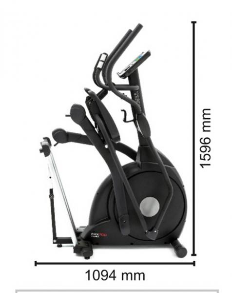 Bicicleta eliptica ERX-700 Toorx 8