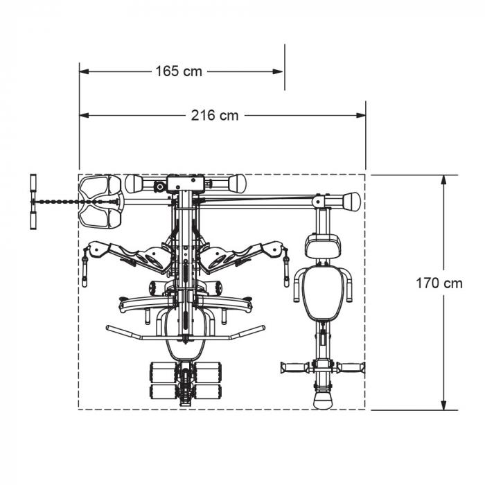 Accesoriu Presa Picioare pentru Body Craft Elite [2]