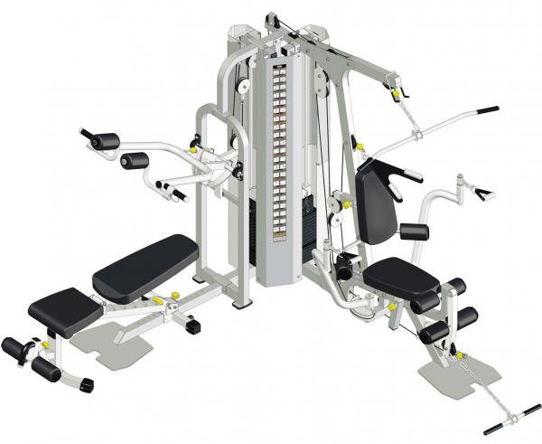 Aparat Multifunctional IF 2060 IMPULSE Fitness [0]