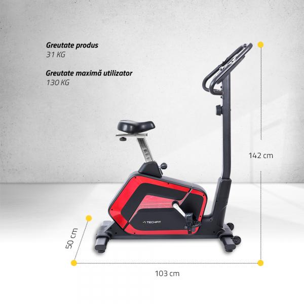 Bicicleta fitness B700 Techfit 1