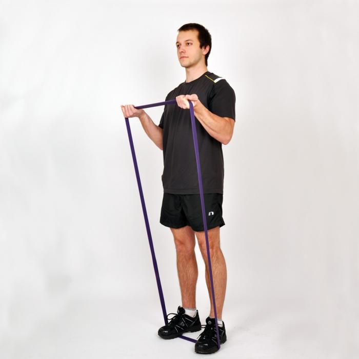 Banda elastica inSPORTline Hangy Medium 32mm 4