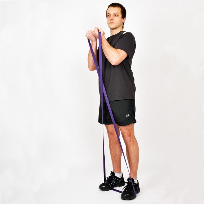 Banda elastica inSPORTline Hangy Medium 32mm 5
