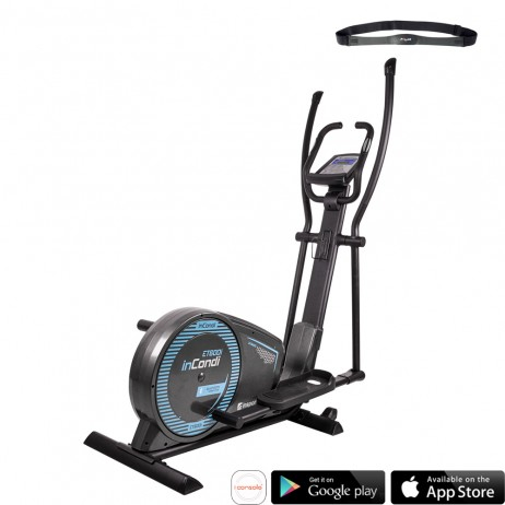 Bicicleta eliptica inSPORTline inCondi ET600i [0]