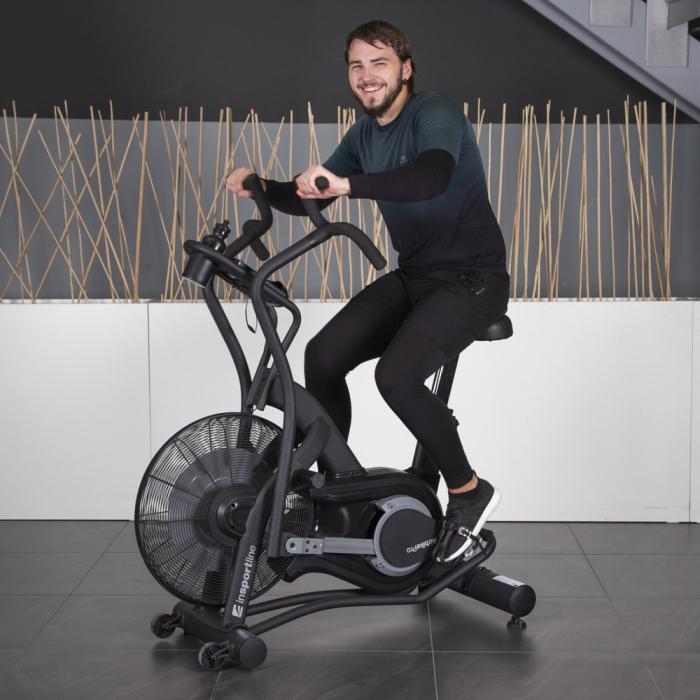 Bicicleta Fitness inSPORTline Airbike Pro [10]