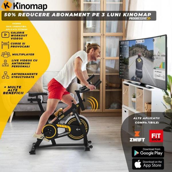 Bicicleta indoor cycling SX2000 Progressive 6