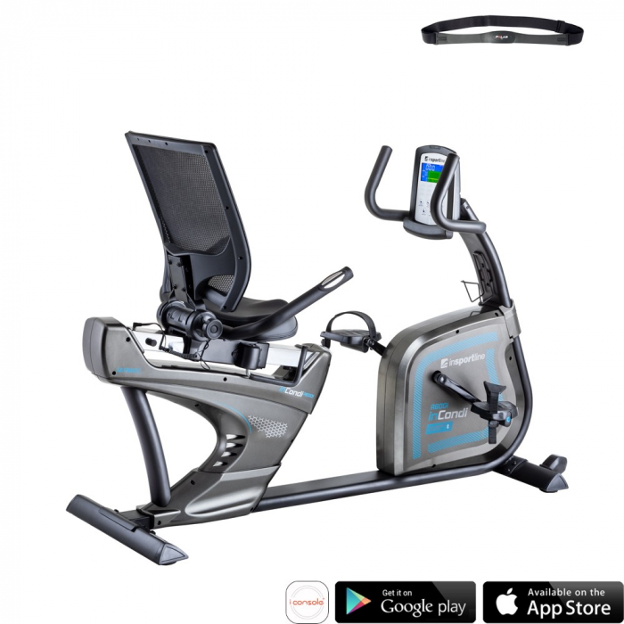 Bicicleta Recumbent inSPORTline inCondi R600i [1]