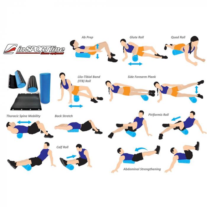 Cilindru yoga inSPORTline Evar [7]