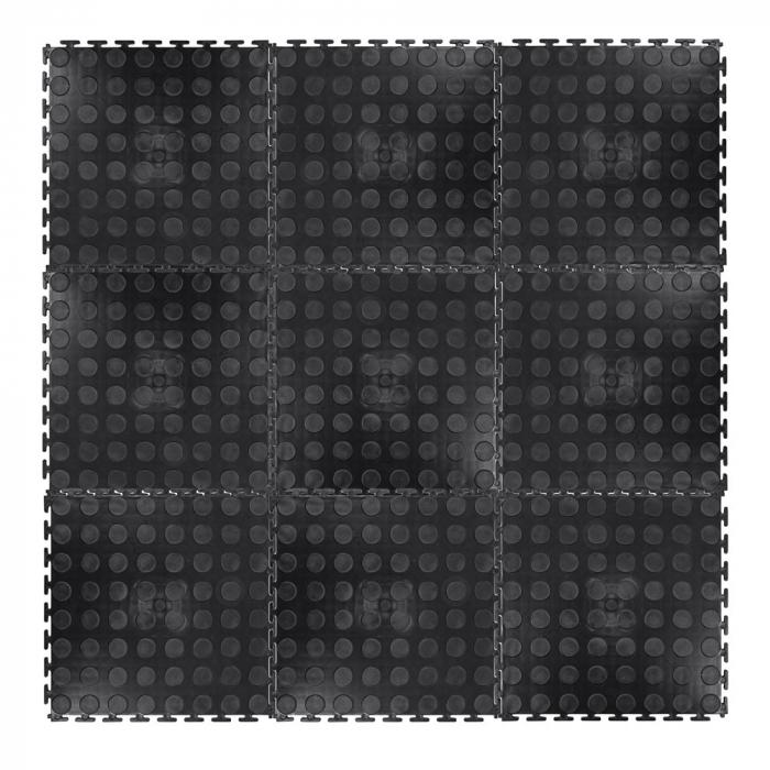 Covor de Protectie inSPORTline Avero 0.6cm - Negru [1]