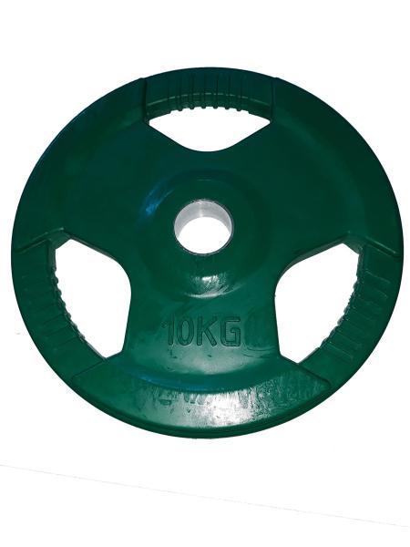 Discuri olimpice colorate  -  10 kg [0]