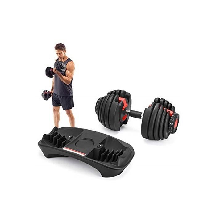 Gantera reglabila 2,5-24 kg Dayu Fitness 1