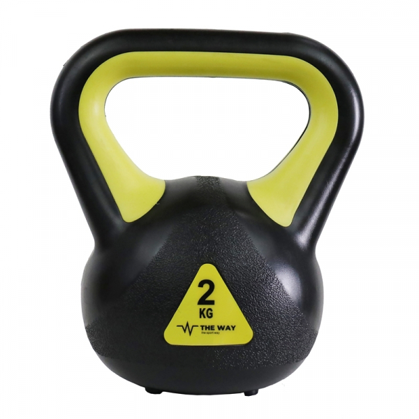 Gantera kettlebell 2 kg-4 kg-6 kg-8 kg The Way Fitness 0