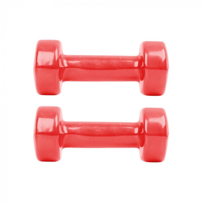 Gantere vinil inSPORTline 2 x 1,5 kg [0]