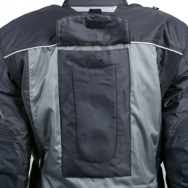 Geaca Moto Barbati cu Pachet Hidratare W-TEC Tasgaid NF-2219 - Negru/Khaki [2]